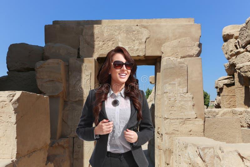 美丽的埃及妇女 免版税图库摄影