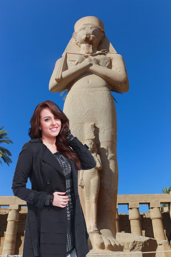 美丽的埃及妇女 库存图片