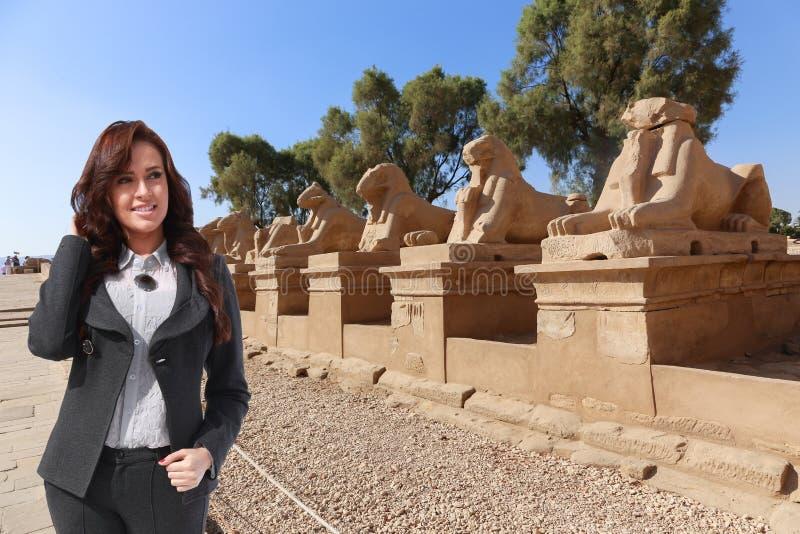 美丽的埃及妇女 库存照片