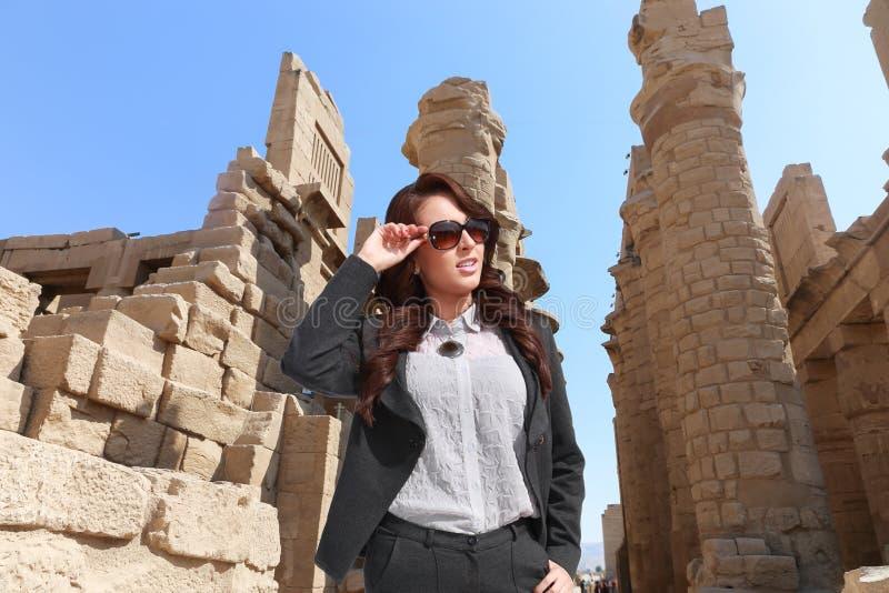 美丽的埃及妇女 免版税库存图片