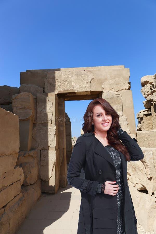 美丽的埃及妇女 图库摄影