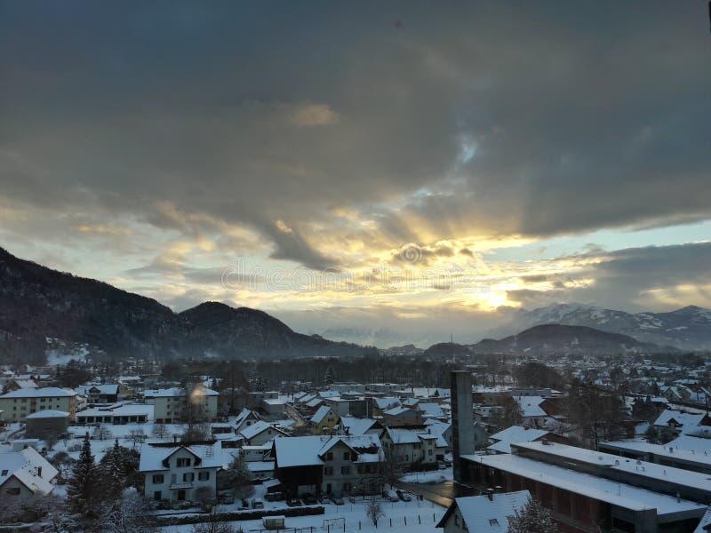 美丽的城市,奥地利 图库摄影