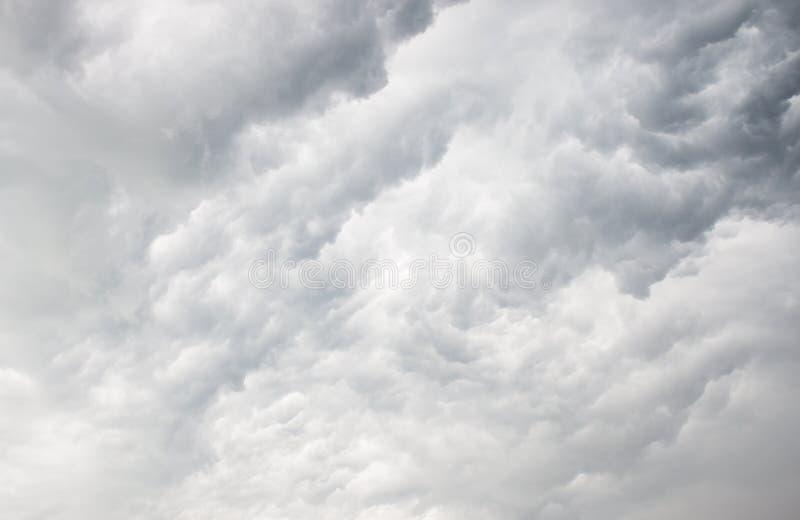 美丽的多云天空 图库摄影