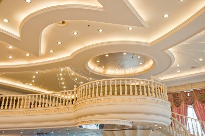 美丽的大厦建立了现代结构 免版税库存图片