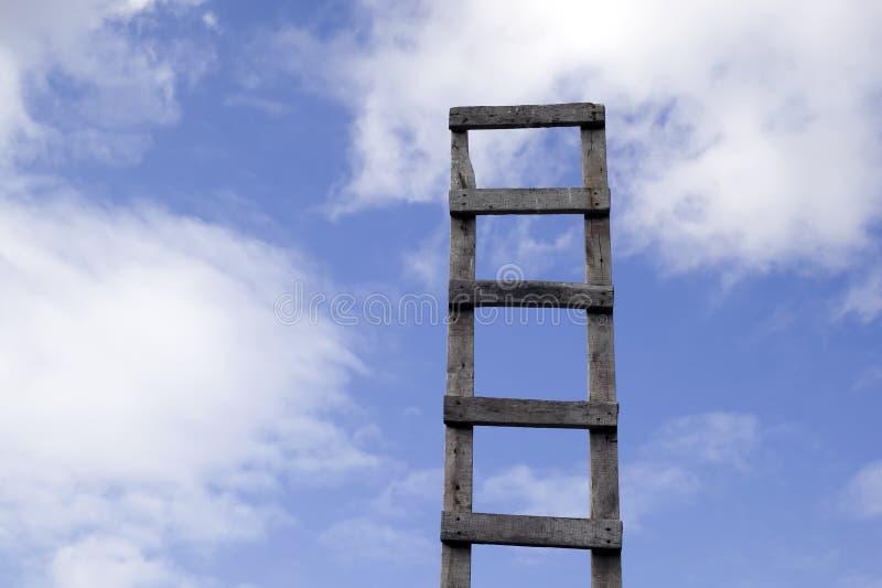 美丽的天堂梯子 免版税图库摄影