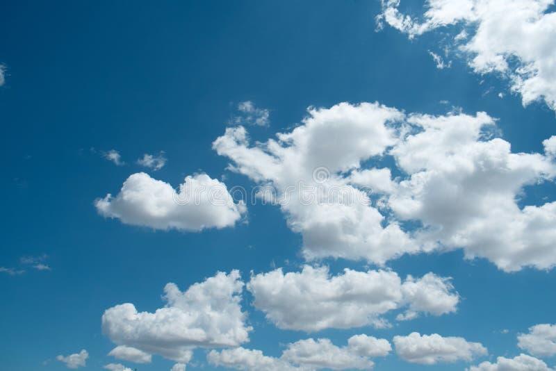 美丽的天空蔚蓝 库存图片