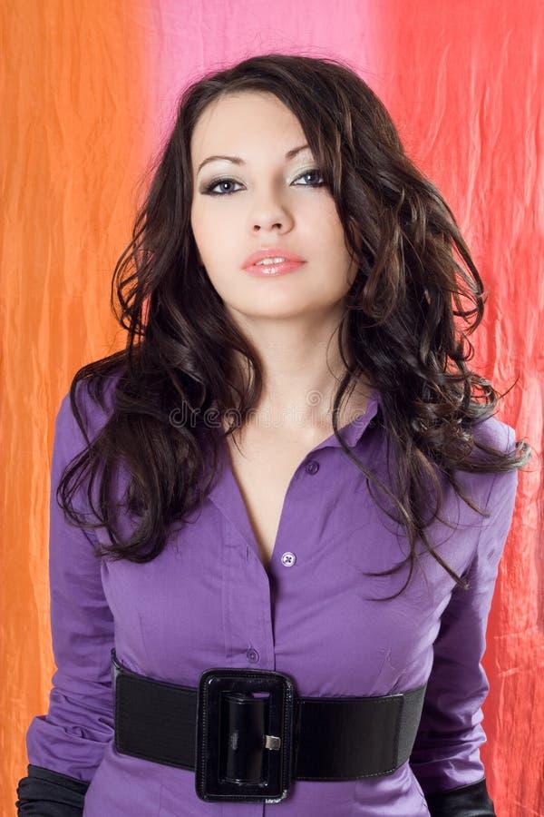 美丽的夫人年轻人 图库摄影