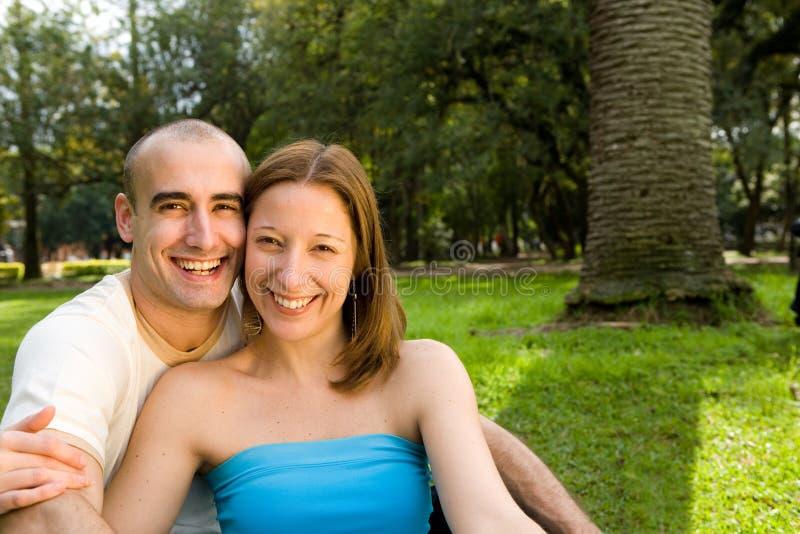 美丽的夫妇年轻人 库存照片