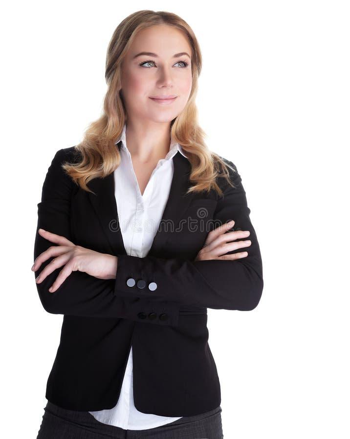 美丽的女商人 库存照片