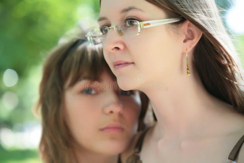 美丽的女孩二 库存图片