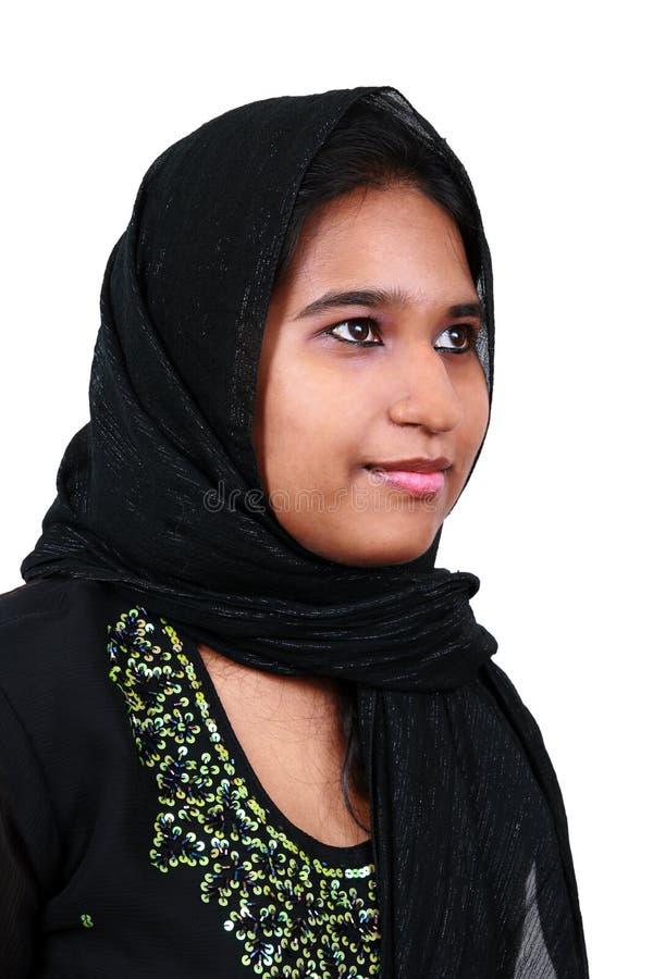 美丽的女孩巴基斯坦年轻人 库存图片