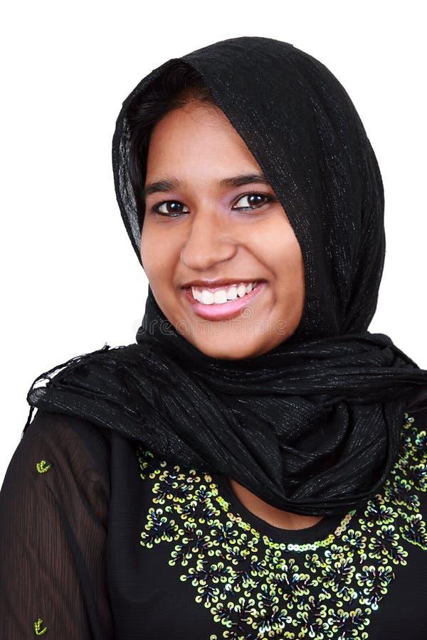 美丽的女孩巴基斯坦年轻人 免版税库存照片
