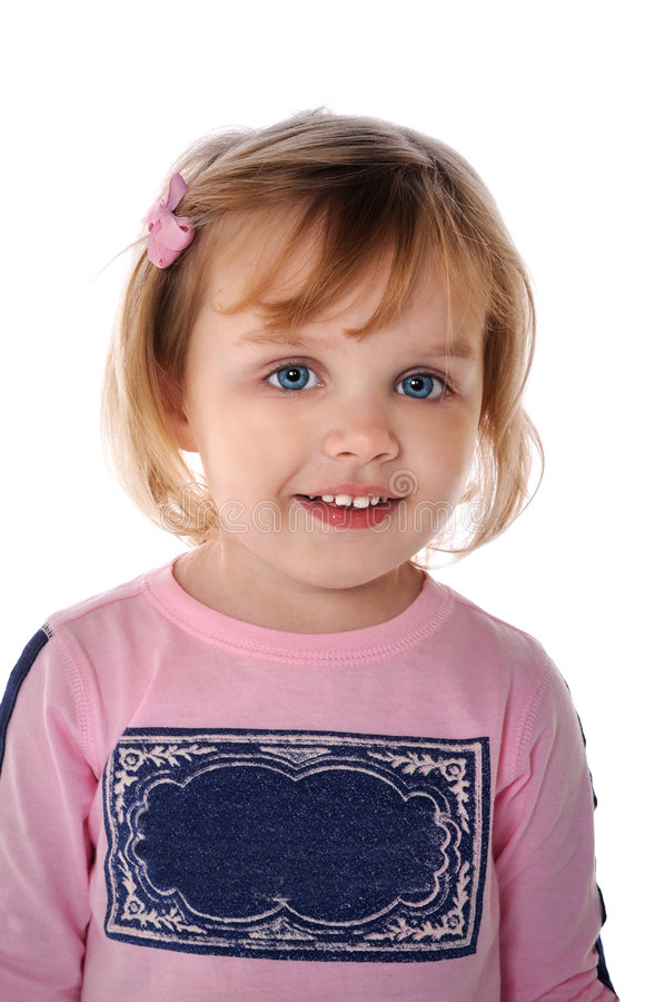 美丽的女孩年轻人 免版税库存图片