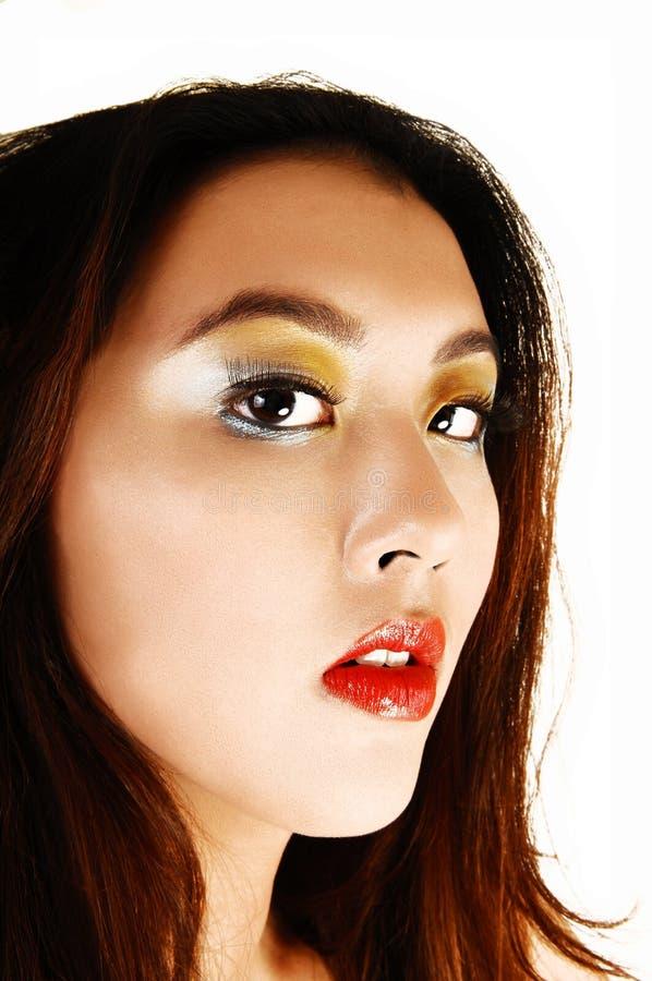 Download 美丽的女孩画象。 库存图片. 图片 包括有 汉语, 种族, 冷静, 生活方式, 现代, 偶然, brunhilda - 30325867