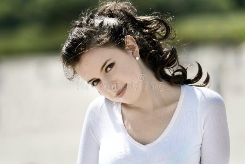 美丽的女孩 免版税库存图片