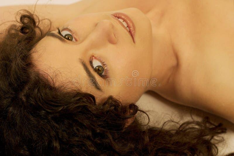 美丽的女神 库存照片