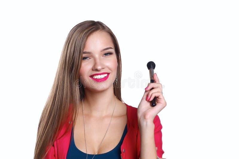 Download 年轻美丽的妇女举行在手中刷子为 库存照片. 图片 包括有 私有, 面部, 人员, 背包, 颜色, brunhilda - 62527232