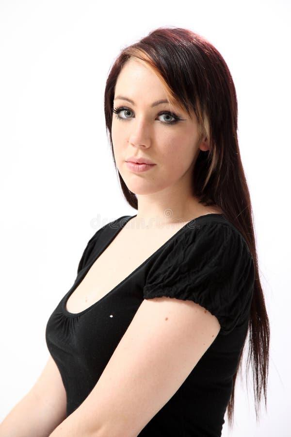 美丽的妇女年轻人 免版税库存图片