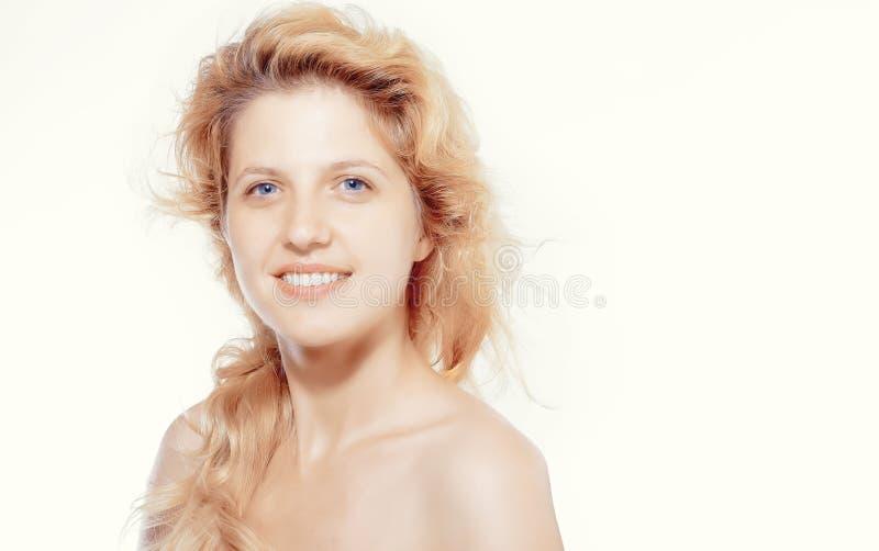 美丽的妇女面孔 库存照片