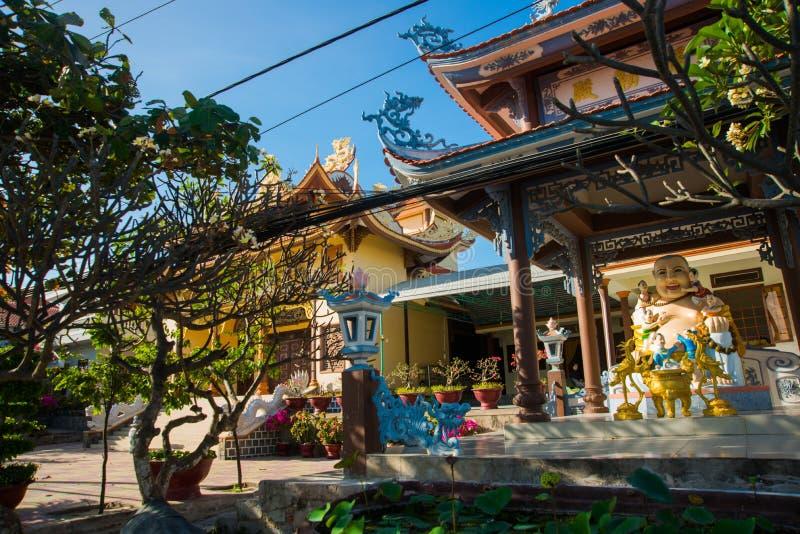 美丽的寺庙 菩萨雕塑 mui ne越南 免版税库存图片