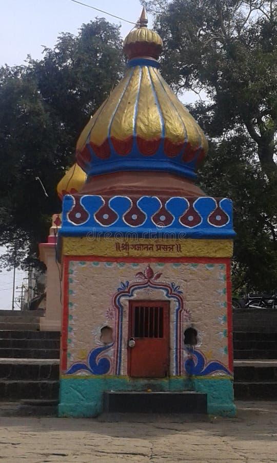 美丽的寺庙shri ganesha (印度神) 图库摄影
