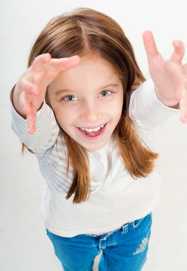 Download 美丽的小女孩 库存图片. 图片 包括有 教育, 方式, 蓝色, 女孩, 艺术性, 表达式, 快乐, 概念 - 30338379