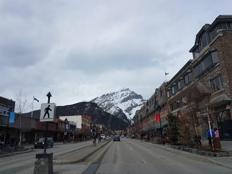 美丽的小镇 免版税库存照片