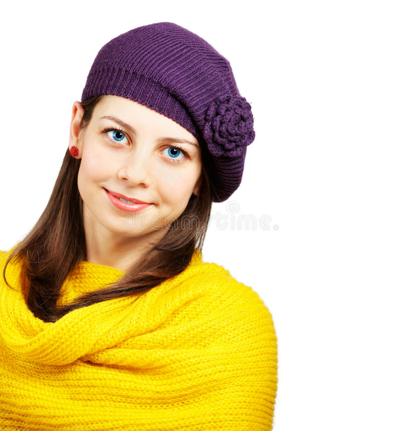 美丽的少妇 免版税库存照片