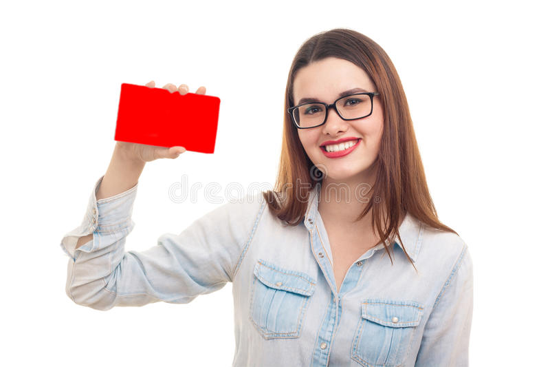 美丽的少妇 免版税库存图片