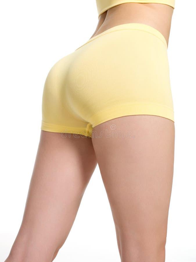 美丽的屁股运动的妇女 图库摄影