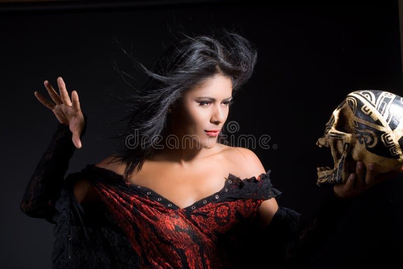 美丽的巫师 图库摄影