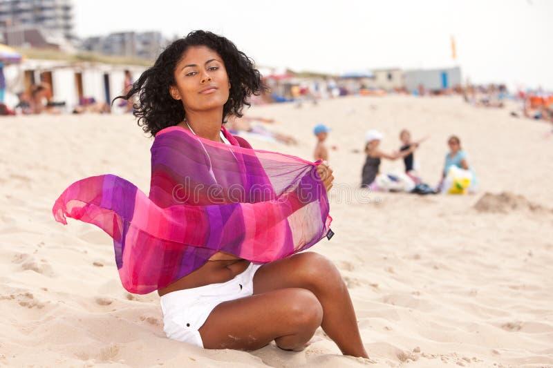 美丽的巴西妇女 库存照片