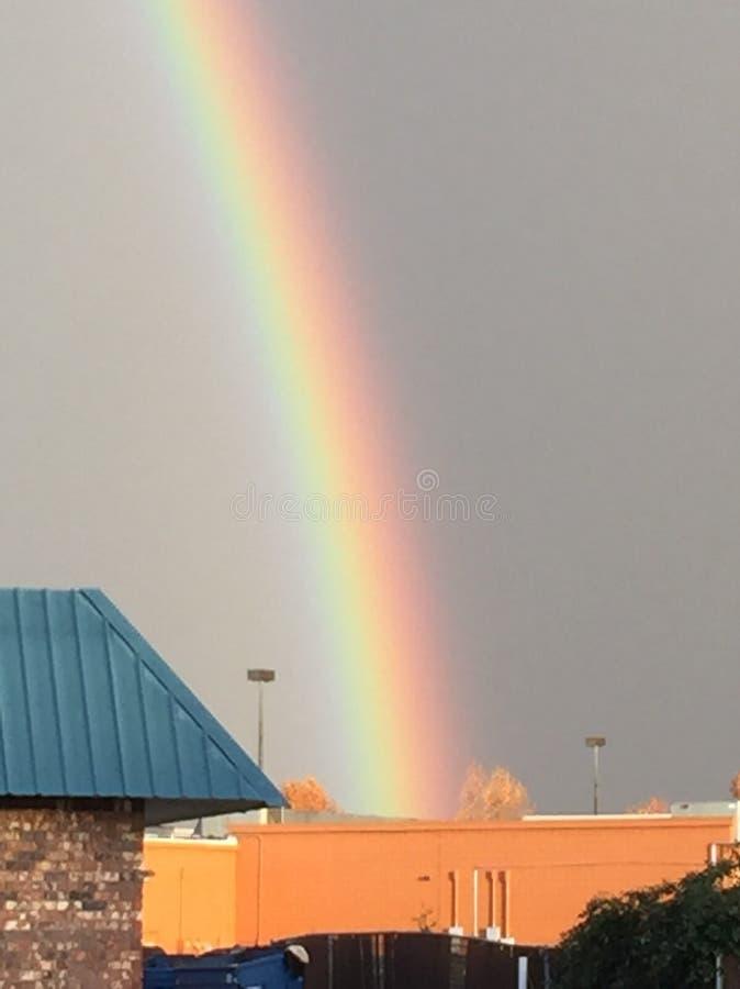 美丽的彩虹 库存图片