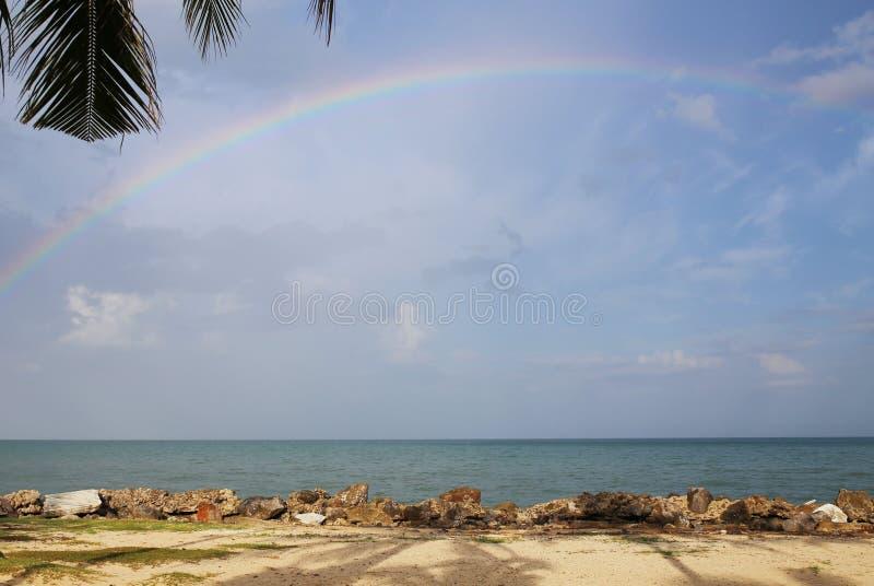 美丽的彩虹 免版税库存图片