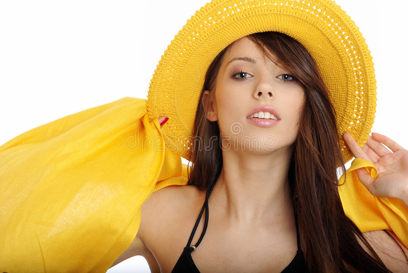 美丽的性感的夏天妇女 免版税库存照片
