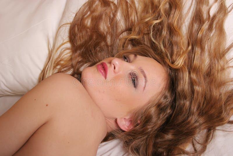 美丽的性感的妇女年轻人 库存照片