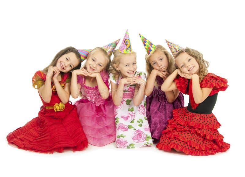 美丽的愉快的孩子 免版税库存图片