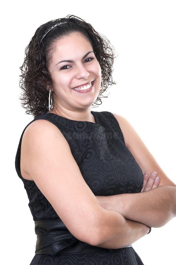 美丽的拉丁妇女 免版税库存照片