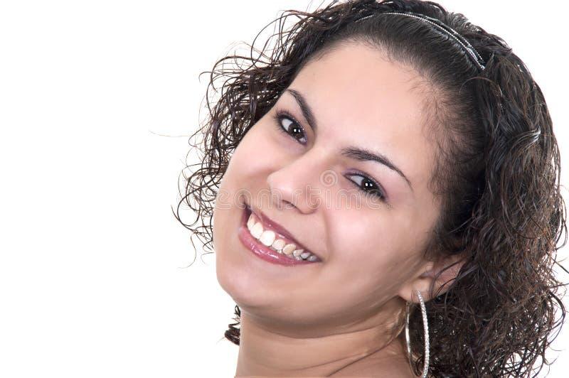 美丽的拉丁妇女 库存照片