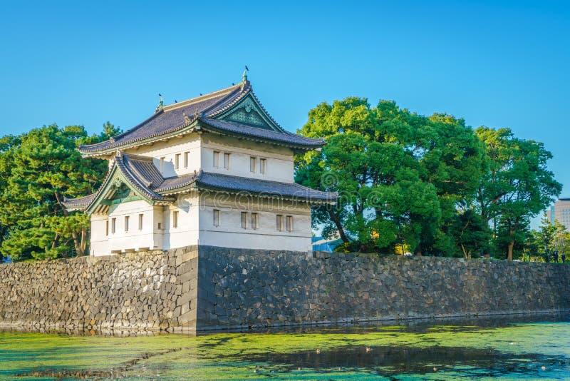 美丽的故宫在东京,日本 库存图片