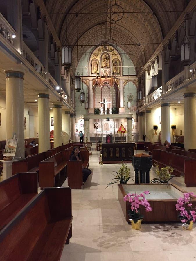 美丽的教会 库存图片