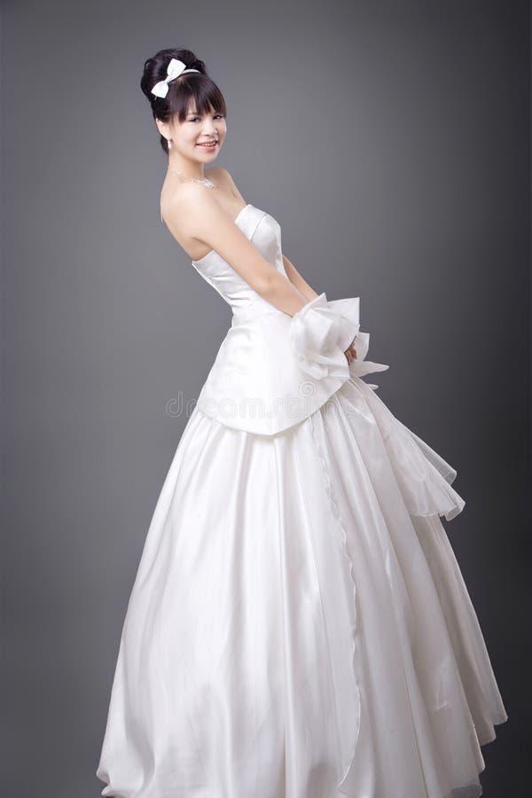 美丽的新娘年轻人 库存照片