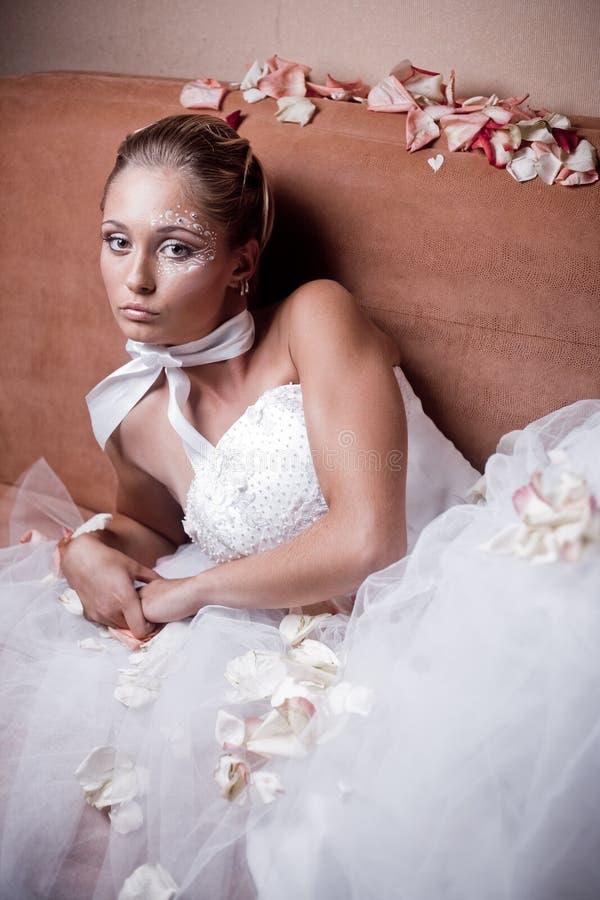 美丽的新娘 库存照片