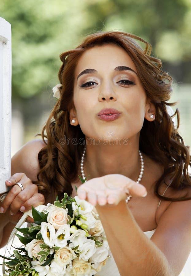 美丽的新娘 图库摄影