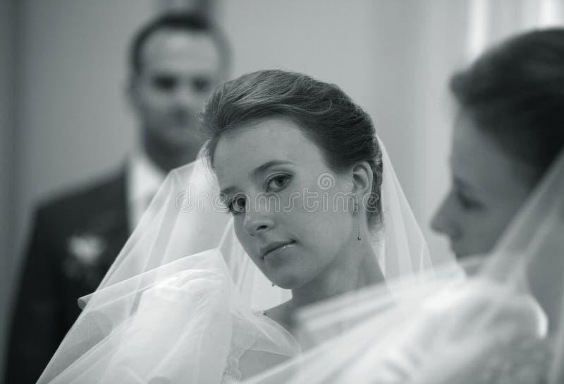 美丽的新娘 库存图片