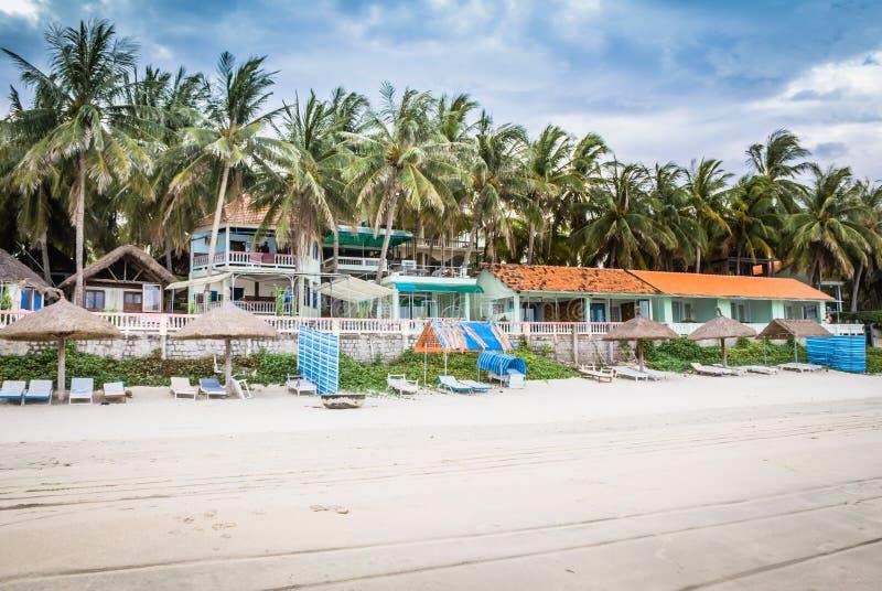 美丽的旅馆在越南 免版税库存图片