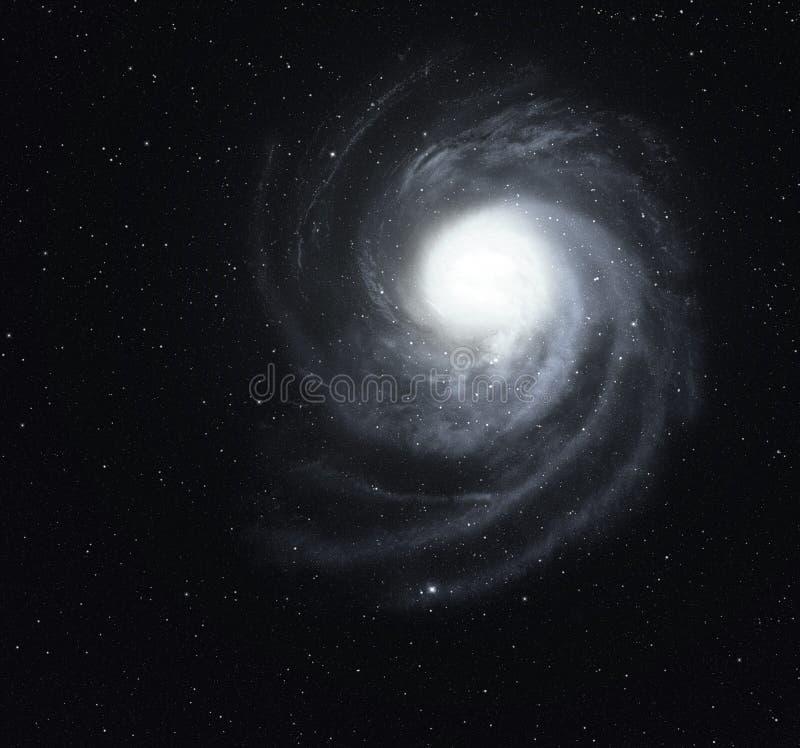 美丽的旋涡星云。 免版税库存图片
