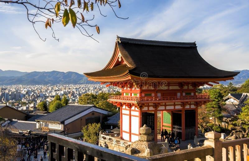 美丽的日本寺庙 图库摄影