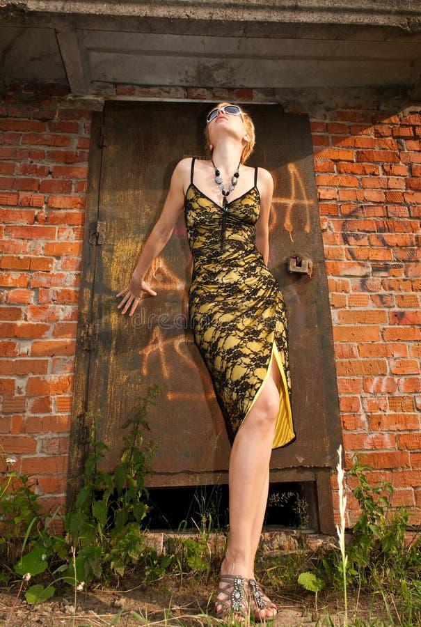 美丽的时髦的女人 免版税图库摄影