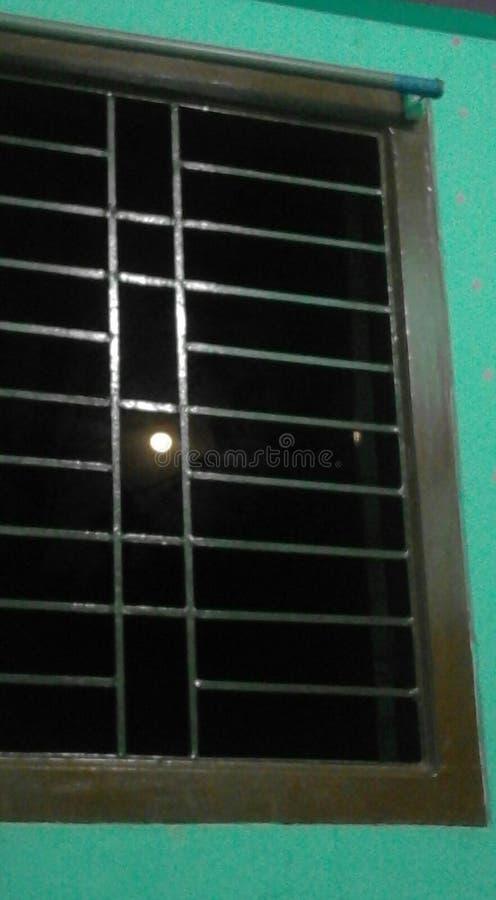 美丽的月亮 库存图片